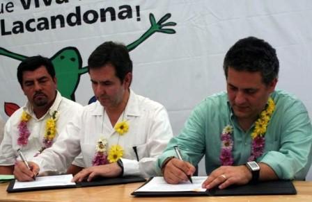 TV Azteca y el gobernador signaron el convenio