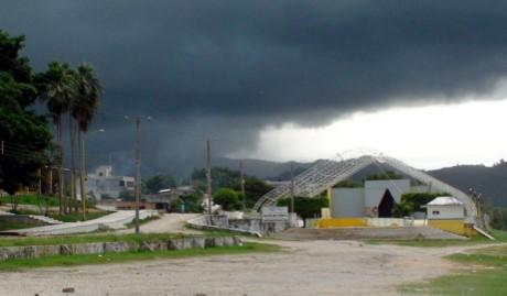 Las lluvias del frente frio provocaron afectaciones.