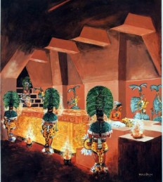 Culto funerario de Pakal.
