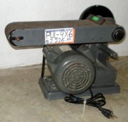La máquina que intentó robar para seguir laparranda.