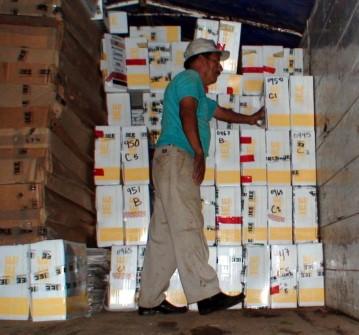 La paqueteria de Palenque en espera de los tribunales.