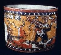 Las vasijas con imagenes son fuentes históricas.