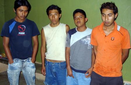 """Cuatro integrantes de los """"Vatos Locos Sureños"""" fuerondetenidos."""
