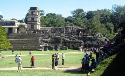El turismo a Palenque es de paso.