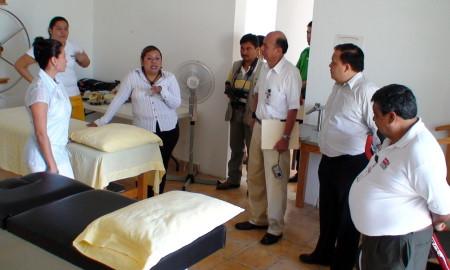Unidad de Rehabilitación para los ancianos.