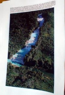 Agua Azul antes de la invasion zapatista.