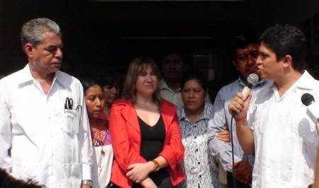 Juan Carlos López resaltó que no viene a reemplazar a ediles.