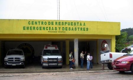 Proteccion civil atendió lacontingencia.