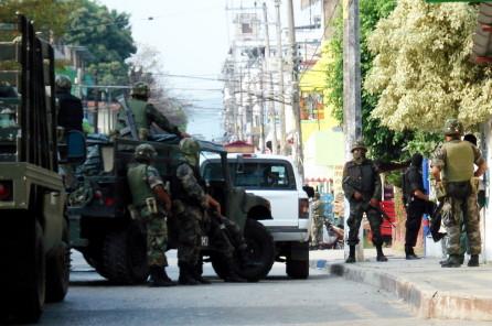 El ejército podrá intervenir en la seguridad publica.