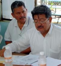 El secretario de pesca, Plácido Morales, impulsa el proyecto industrial.