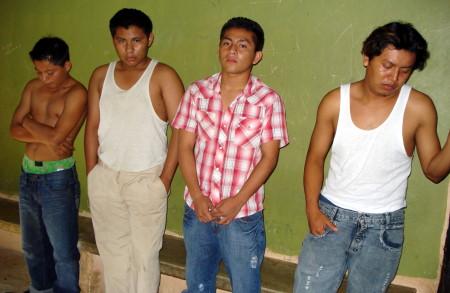 Los cuatro sospechosos de robar la cadena deoro
