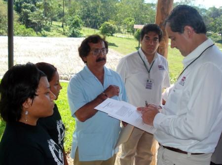 El titular de Semarnat recibió la propuesta de los ecologistas dePalenque.