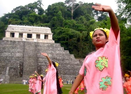 Los ind�genas realizarán ceremonias a los cuatro elementos sagrados.