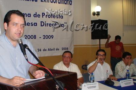 Albores Gleson detalló las metas tur�sticas de Chiapas.