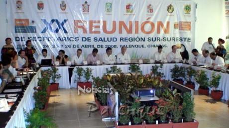 Concluyó el XX encuentro de secretarios de salud.