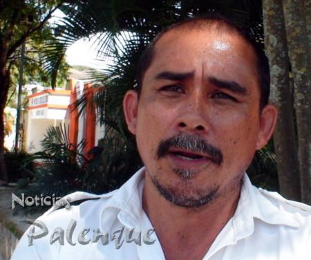 El dirigente del sitio Maya Pakal dijo el el pirataje los perjudica.