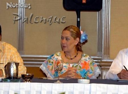 La legisladora chiapaneca participó en la Conferencia Nacional.