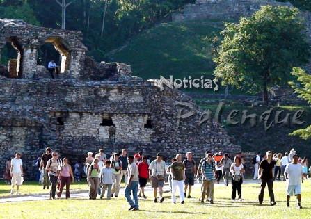 Marzo rompió con todas las espectativas en la ruinas de Palenque.