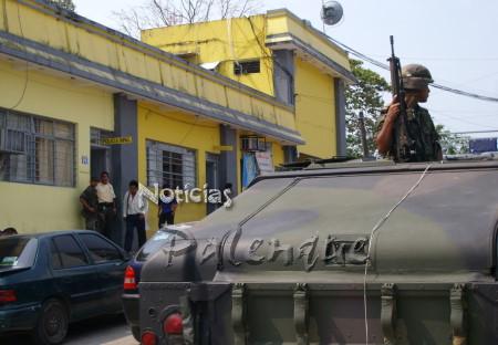 Se incrementaron los patrullajes militares en Palenque.