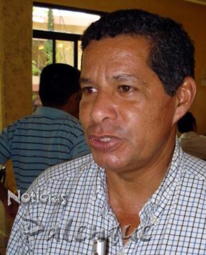 Dirigente estatal de productores de hule.