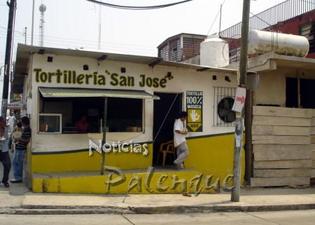 Las tortiller�as de Palenque son negocios riesgosos.