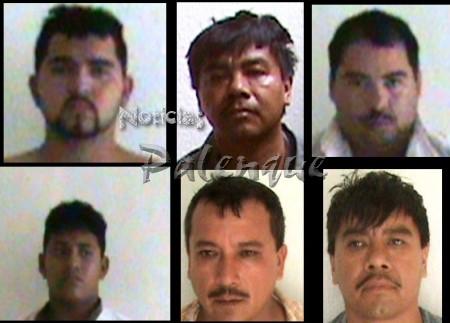 Los presuntos Zetas quedaron a disposición de PGR.