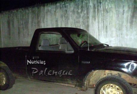 Logró la PEP recuperar la camioneta robada.