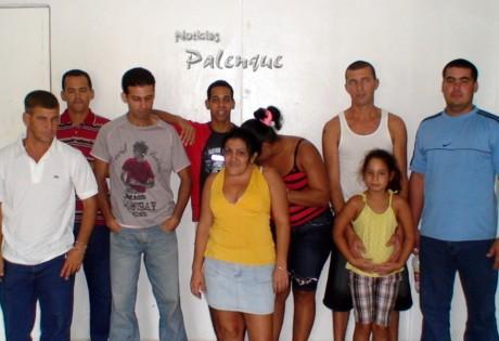 Los cubanos fueron a recalar a costas hondureñas.