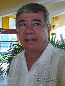 Arqueólogo Alfonso Morales Cleveland.