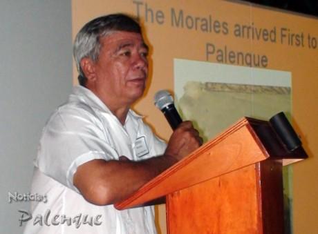 El arquólogo Alfonso Morales recibió el impulso de Merle Green.