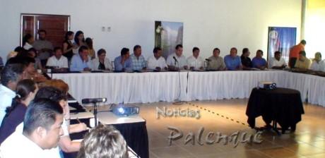 El consejo regional de turismo se instaló en Palenque.
