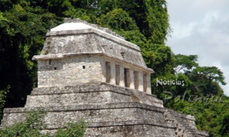 El Templo de las Inscripciones ya recibió el mantenimiento.