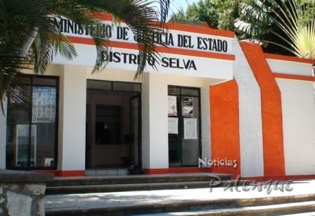 Elementos de la Ministerial en Palenque realizaron la detención del homicida.