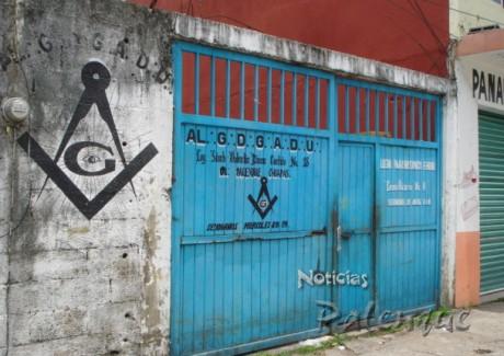 Los masones pidieron respeto a la propiedad privada.