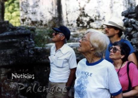 Palenque. la gran pasión de Merle Green durante casi medio siglo.