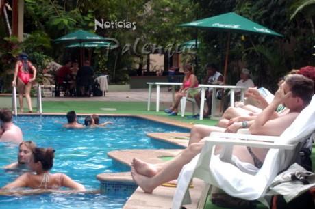 Actualmente solo una fracción del visitante ocupa hoteles en Palenque.