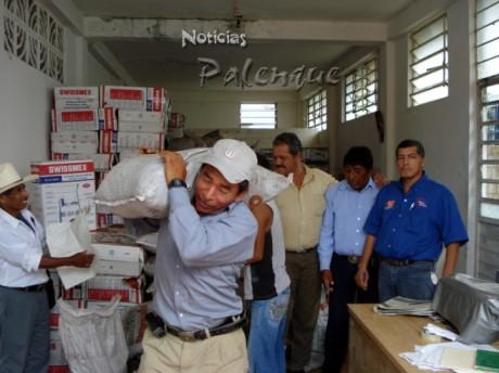 """Campesinos priistas recibieron insumos de """"Chiapas Solidario"""""""
