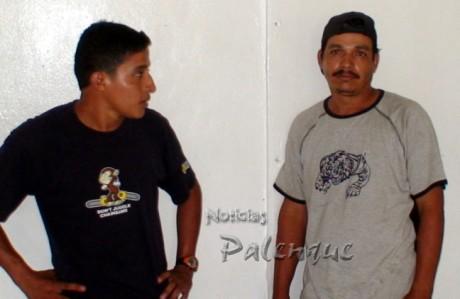 El par de guatemaltecos ilegales.
