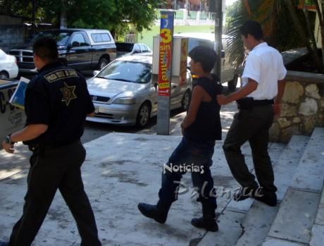 El presunto asaltante fue remitido a Berrizabal para enfrentar juicio