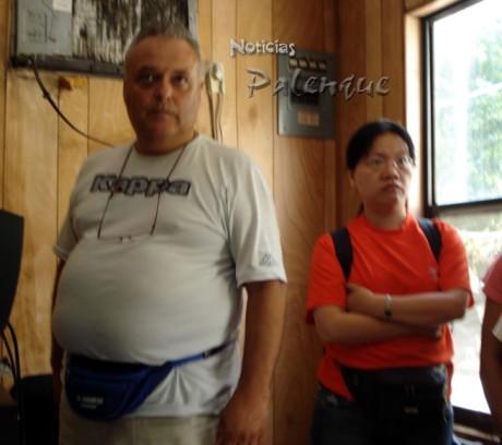 El turista italiano reclamaba que la empresa se responsablilizara.