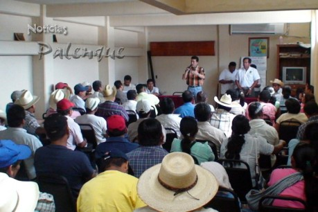 Escandón Cadenas instó a los indigenas a participar en la consulta.