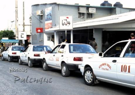 La inseguridad está afectando ya a taxistas de 3 municipios.