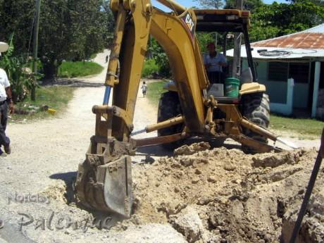 Las obras empezaron en febrero, antes que en otros municipios.