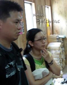 Turistas chinos denunciaron el robo sobre el autobús.