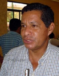 Luis Rey Uscanga, dirigente de los huleros chiapanecos.