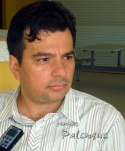 Presidente de los hoteleros de Palenque, Luis Estrada.