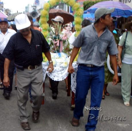 San José de Catazajá desde hace 4 años acompaña al patrono de Palenque.