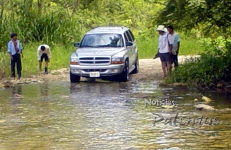 Algunos caminos quedaron intransitables por las lluvias.