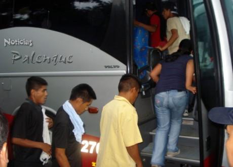 Con destino a la estación migratoria de Tapachula para su deportación