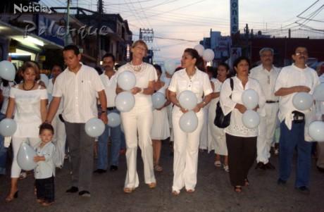 La marcha aglutinó a ciudadanos que normalmente no se manifiestan.